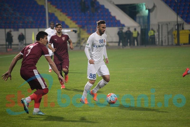 FC Botosani, pe locul trei in topul echipelor cu cea mai buna posesie din Liga 1