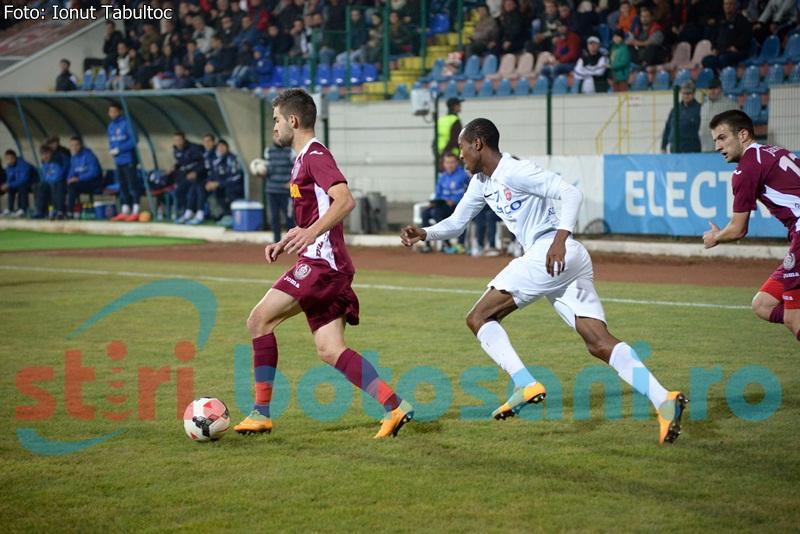 FC Botosani pierde si meciul de la CFR Cluj, dupa tripla lui Lopez!