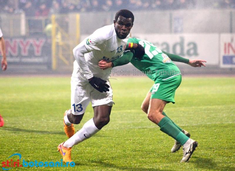 FC Botosani poate da lovitura cu Ngadeu: 1 milion de euro pentru fotbalistul din Camerun!