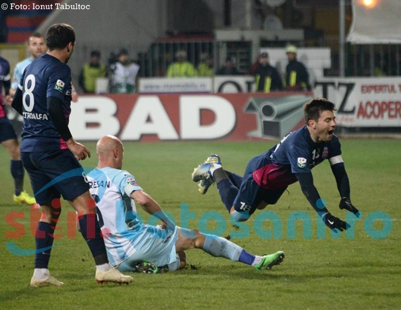 FC Botoșani poate urca pe locul 4, dacă învinge pe ASA Tîrgu Mureș! REZULTATE, CLASAMENT