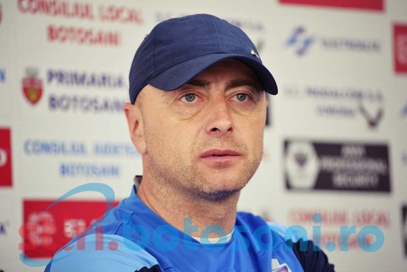 """FC Botosani primeste vizita Ceahlaului: """"Nu avem voie sa facem pasi gresiti"""""""