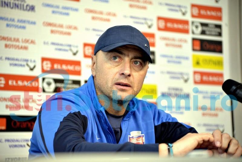 """FC Botosani primește vizita celor de la Mediaș. Leo Grozavu: """"Gaz Metan poate fi considerată echipa momentului"""""""