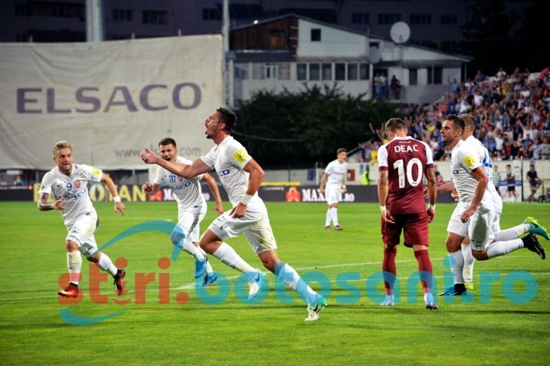 FC Botosani ramane lider dupa primele trei etape