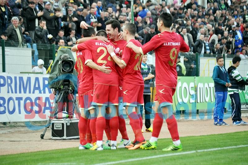 FC Botoşani rămâne pe locul patru. VEZI REZULTATELE şi CLASAMENTUL