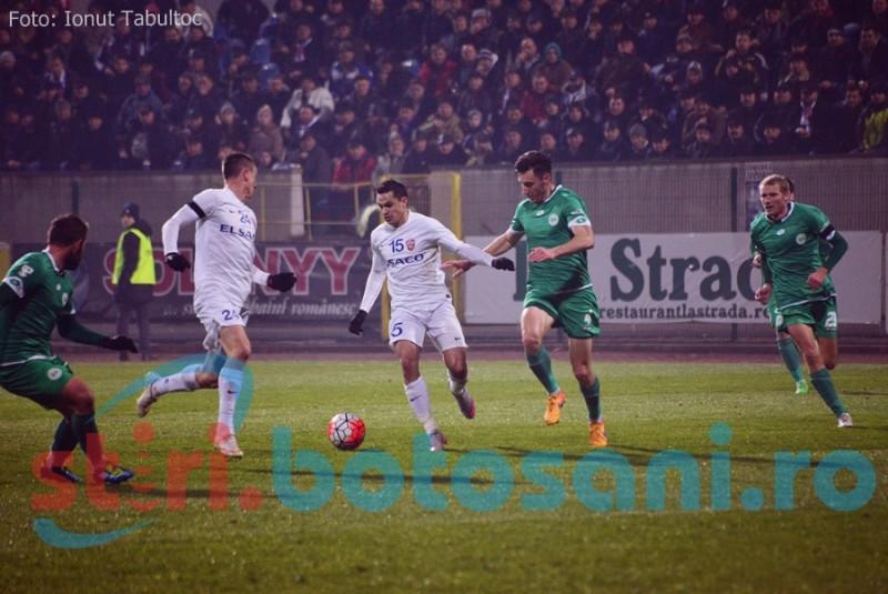FC Botosani recupereaza punctele pierdute acasa, dupa victoria cu 2-0 de la Chiajna!