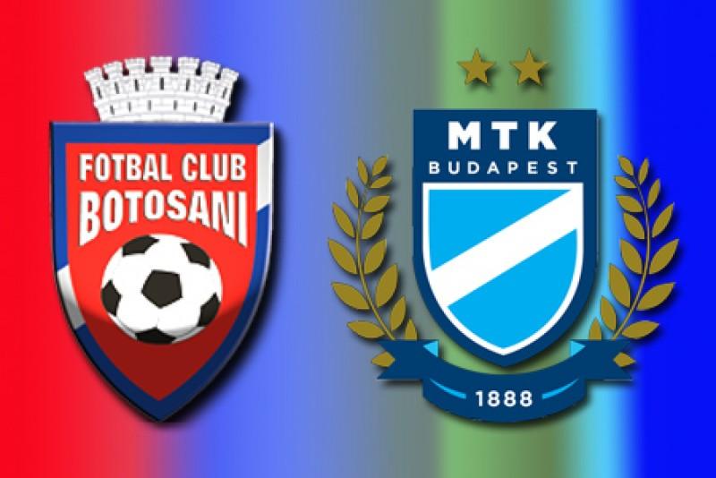 FC Botosani, remiza cu vicecampioana de toamna a Ungariei!