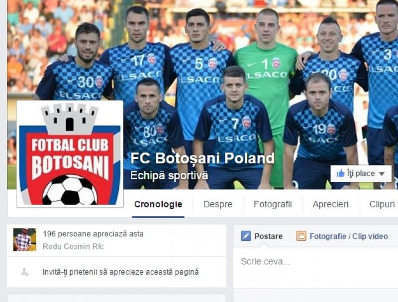 "FC Botosani s-a ales cu fani din Polonia, dupa dubla cu Legia! Iftime: ""Este formidabil"""