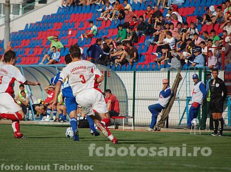 FC Botoşani s-a calificat în faza a V-a a Cupei României