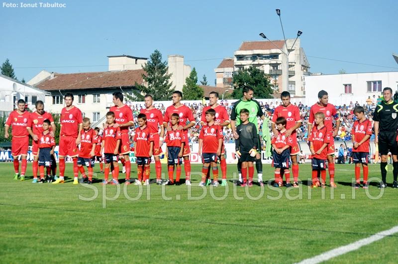 FC Botosani s-a calificat in optimile Cupei Romaniei, dupa 2-0 cu Gloria Buzau