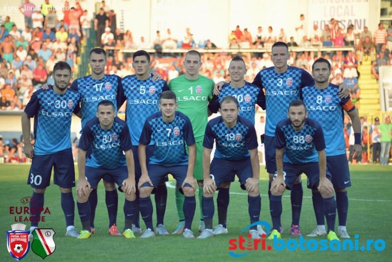 """FC Botosani s-a despartit de un titular din meciul cu Legia Varsovia: """"Vor mai pleca inca doi-trei jucatori"""" - FOTO"""