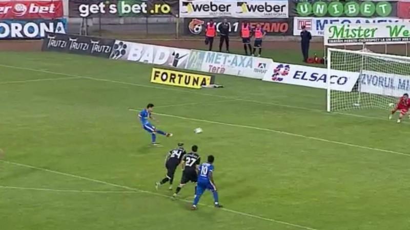 FC Botoşani s-a impus la limită în faţa formaţiei Gaz Metan Mediaş. Rodriguez a marcat singurul gol al partidei