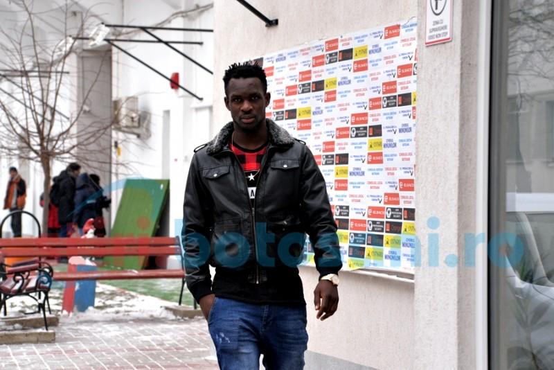 FC Botoșani s-a întarit cu Benjamin KUKU și Laurentiu Buș! Nigerianul s-a alaturat lotului! FOTO