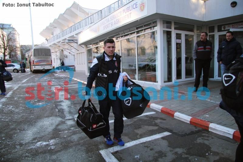 FC Botosani s-a intors din cantonamentul de la Gura Humorului! Doua zile libere! FOTO