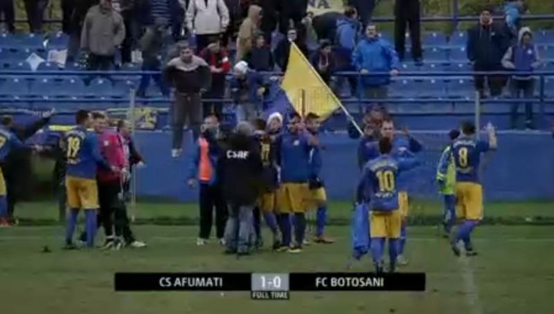"""FC Botosani s-a """"AFUMAT"""" in Cupa Romaniei! Botosanenii au fost eliminati de CS Afumati - VIDEO"""