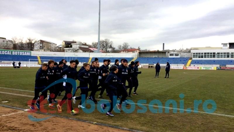 FC Botoșani s-a reunit cu gândul la rușinea din finalul anului trecut! FOTO