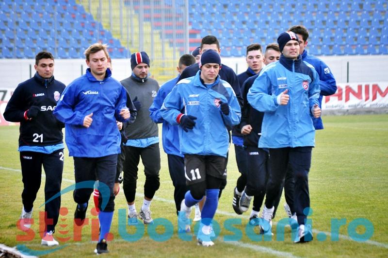 FC Botosani s-a reunit luni cu un nou antrenor principal - FOTO