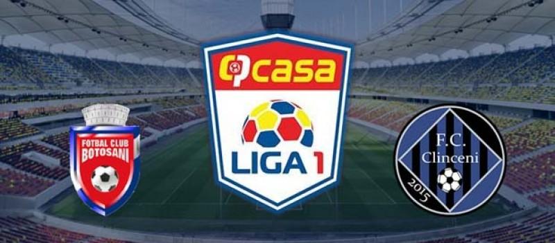 FC Botoșani se așteaptă la victorie cu Academica Clinceni