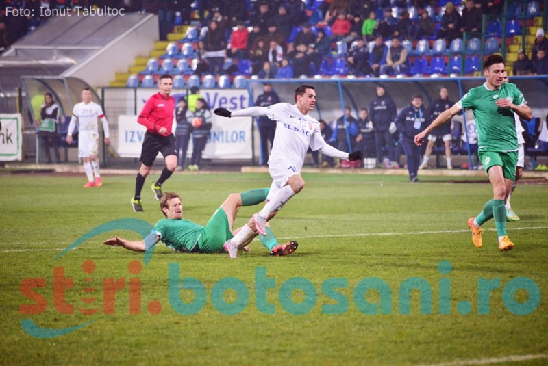 FC Botosani se intoarce cu un punct de la Chiajna!