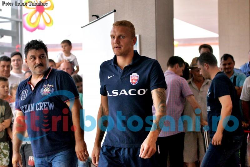 FC Botosani si-a prezentat jucatorii in fata suporterilor, la Uvertura Mall! Cabrera a lipsit! FOTO, VIDEO
