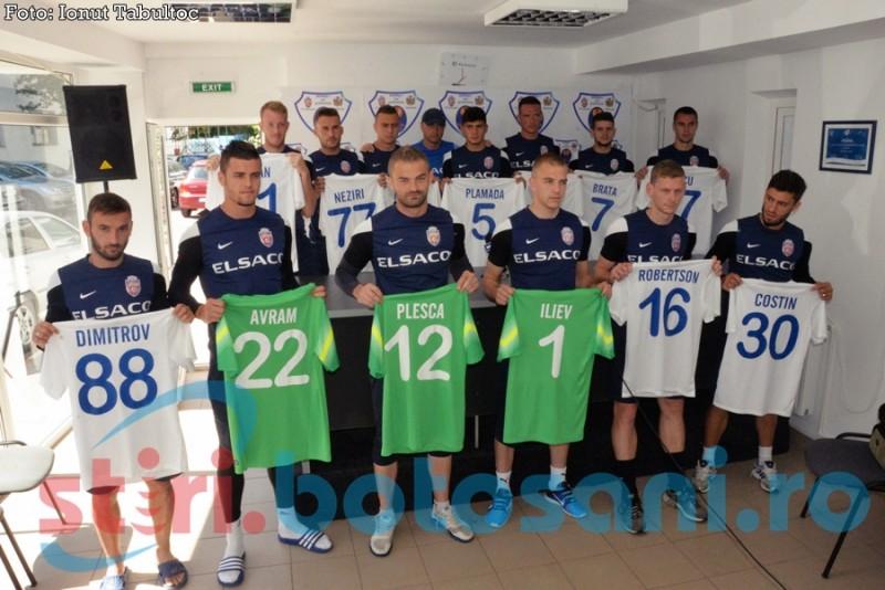 FC Botosani si-a prezentat noile achizitii! 13 jucatori noi, urmeaza altii! FOTO