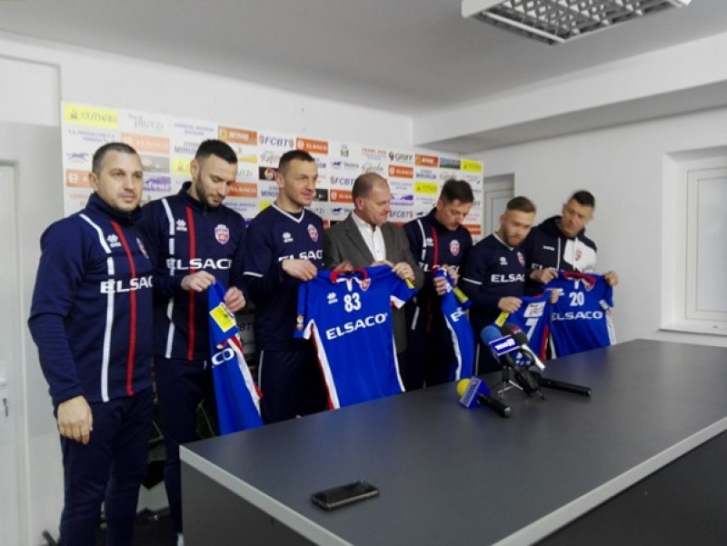 FC Botoşani şi-a prezentat noile achiziţii făcute în pauza competiţională