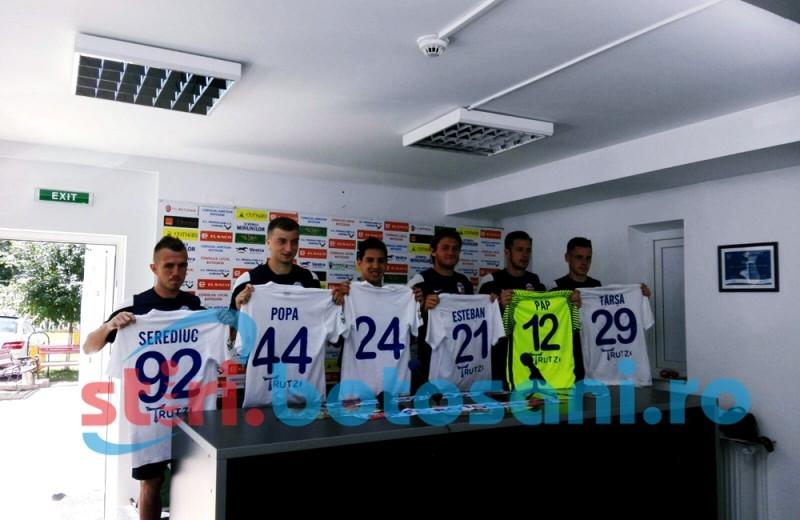 FC Botosani si-a prezentat noile achizitii - FOTO