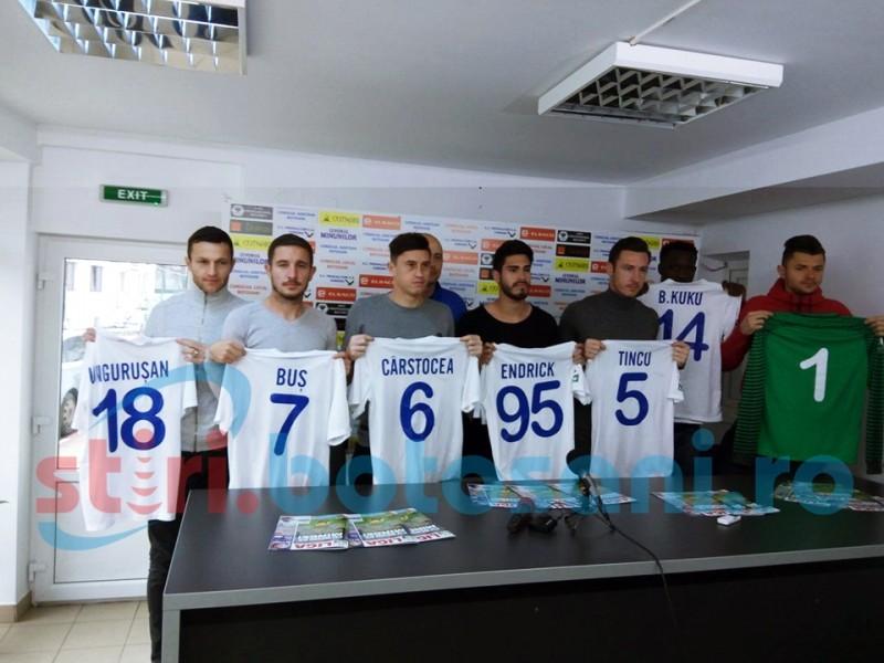 FC Botosani si-a prezentat noile achizitii! FOTO, VIDEO