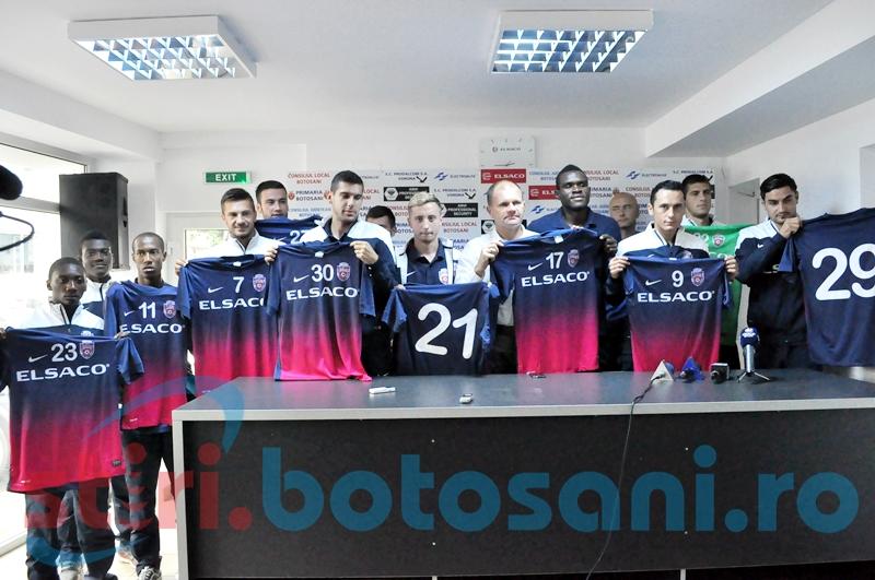 FC Botosani si-a prezentat noile achizitii pentru sezonul 2014-2015 - FOTO