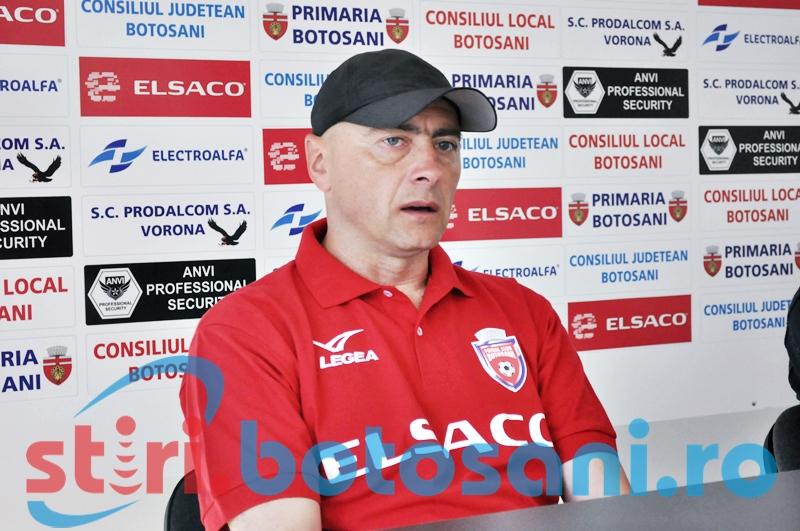 """FC Botosani spera la locul 6: """"Baietii mi-au spus ca asta este una din motivatiile lor"""" - VIDEO"""