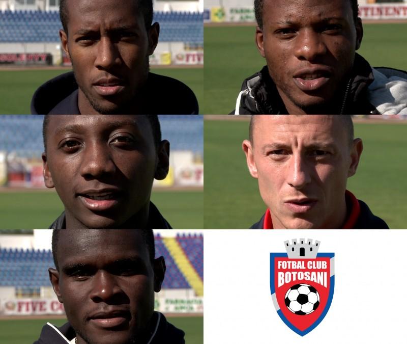 "FC Botosani spune ""NU RASISMULUI!"" - VIDEO"