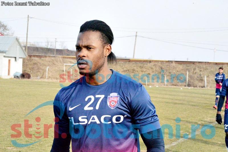 FC Botosani testeaza un camerunez care a facut junioratul la Manchester City! FOTO, VIEO