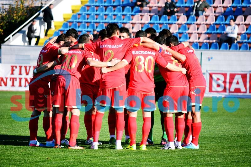 FC Botosani va juca la mijlocul lunii decembrie doua meciuri din returul Ligii 1