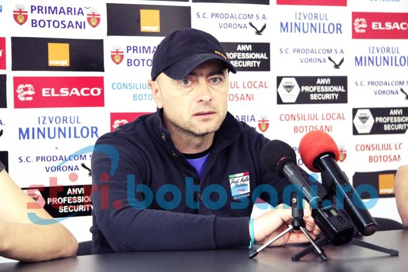 """FC Botoșani va juca sâmbătă la Chiajna: """"Există un dor de revanșă pentru toată lumea"""""""