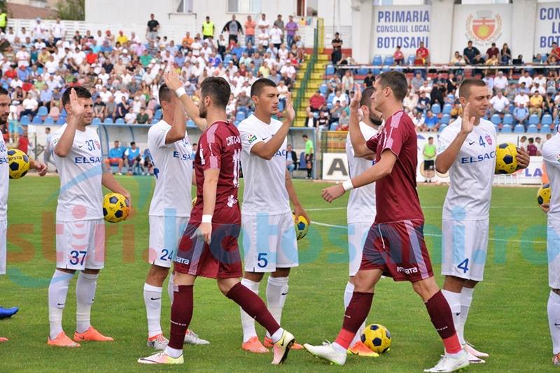 """FC Botosani viciata de un penalty la meciul cu CFR Cluj! Craciunescu a dat verdictul: """"A fost penalty"""""""