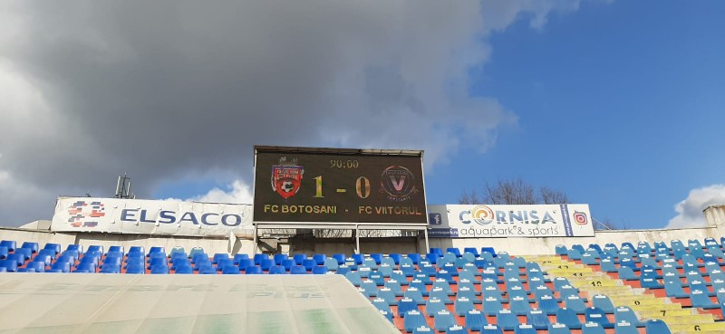 FC Botoșani - Viitorul 1-0! Victorie MARE! Patru echipe OUT din cursa pentru Play-Off. Cum se pot califica elevii lui Croitoru încă de mâine