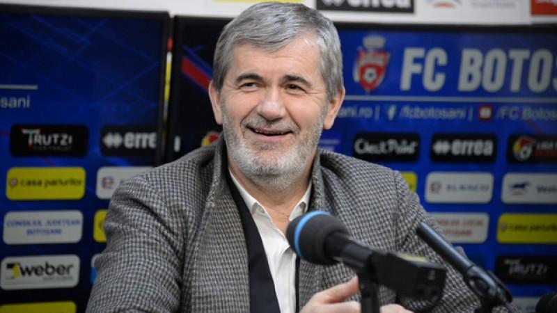 FC Botoșani vrea locul trei, dacă intră în play-off