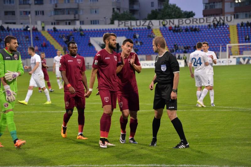 FC Voluntari da vina pe arbitri: Rosu la Miron si penalty inexistent pentru Botosani