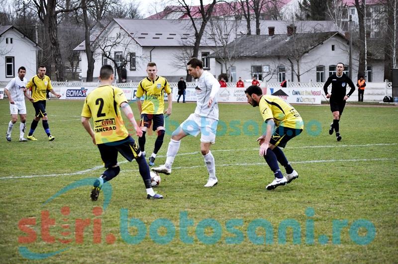 FCM Dorohoi a remizat pe teren propriu cu CF Braila, intr-un meci cu doua cartonase rosii - FOTO