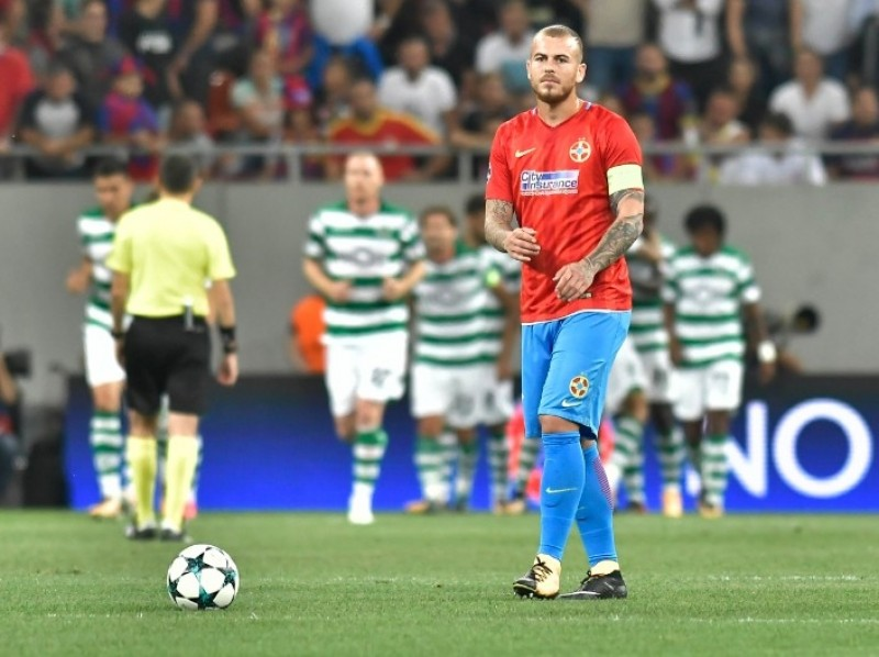 FCSB a fost umilita de Sporting, scor 1-5, in returul Play-Off-ului Champions League!