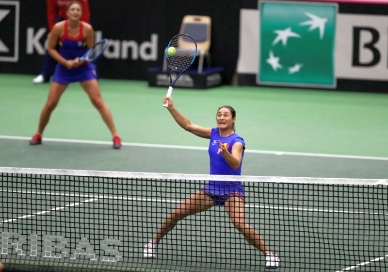 Fed Cup: România e din nou în semifinalele Fed Cup după 46 de ani! Begu și Niculescu au câștigat eroic meciul decisiv