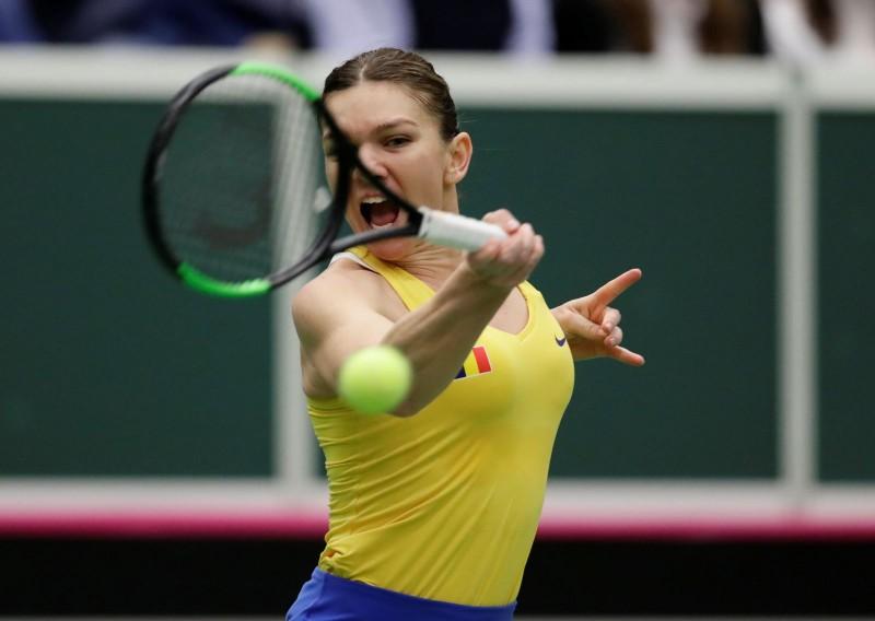 Fed Cup: Simona Halep egalează scorul. Cehia- România, 1-1