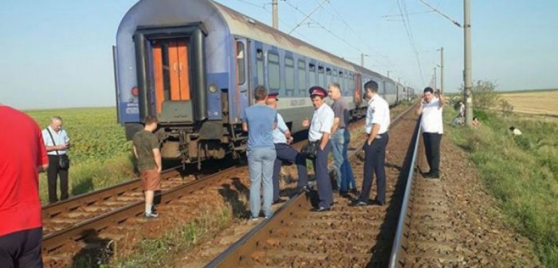 Femeia care s-a aruncat în faţa trenului, împreună cu cei trei copii, suferea de depresie