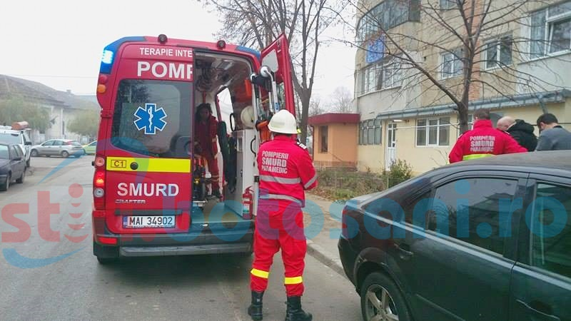 Femeia rănită în incendiul de pe strada M. Kogălniceanu, transferată la Iaşi!