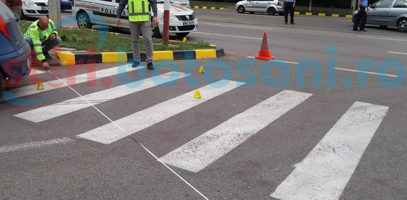 Femeie accidentată de o șoferiță pe trecerea de pietoni!