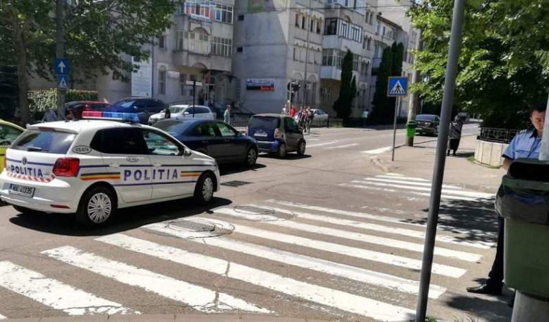 Femeie lovită de un Audi, pe o trecere de pietoni din municipiul Botoșani
