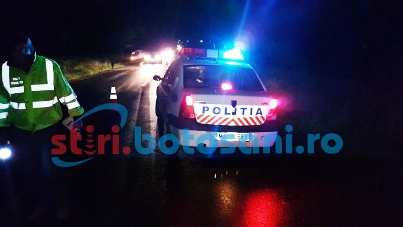 Femeie lovita MORTAL de un autoturism, pe un drum national din judetul Botosani! FOTO