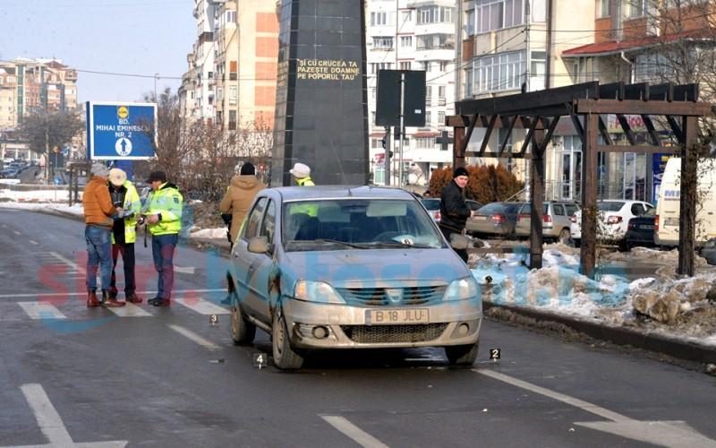Femeie ranita intr-un accident rutier ce a avut loc pe Calea Nationala! FOTO