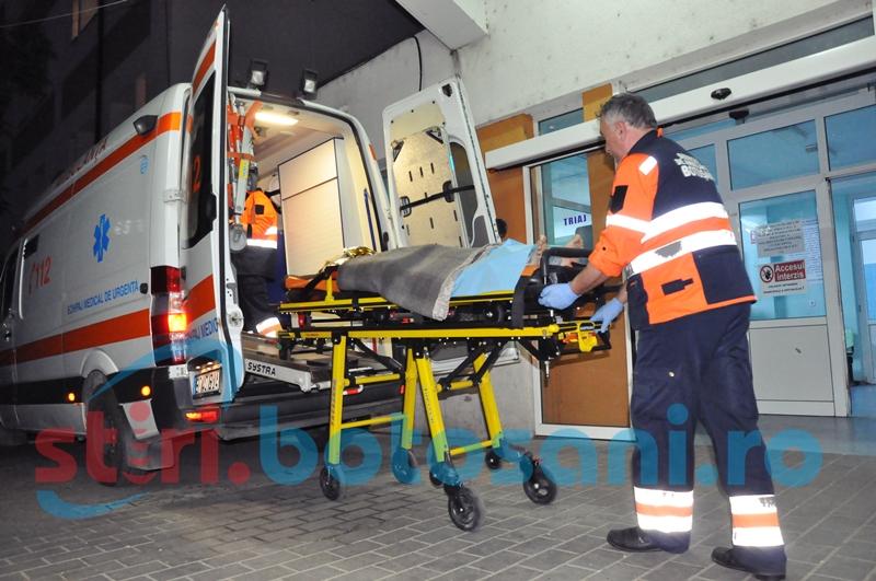 Femeie transferată la Bucureşti, după ce a suferit arsuri grave