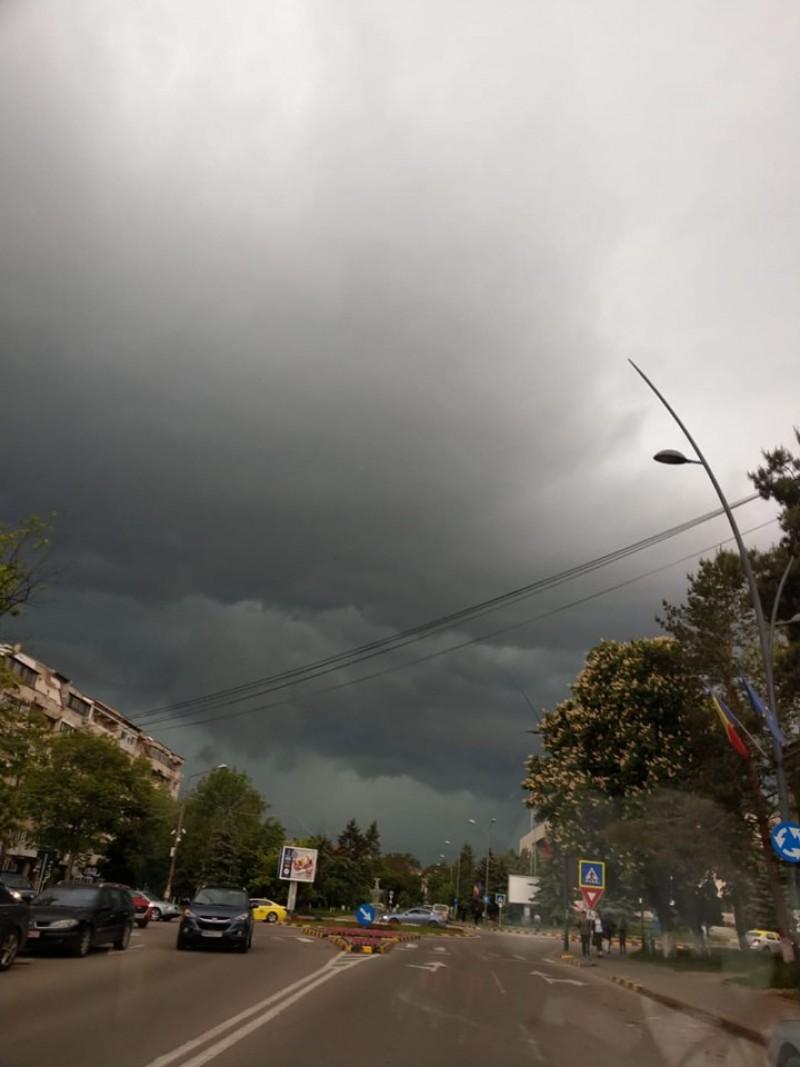 Fenomene meteo periculoase anunțate prin RO ALERT, pentru județul Botoșani!