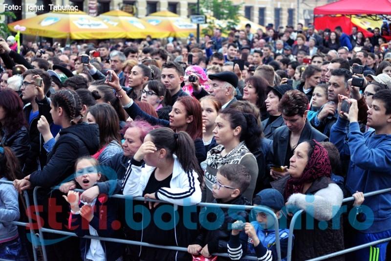 Festival de toamnă la Botoşani, organizat de un agent economic în Centrul Vechi